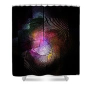 Abstract110111b Shower Curtain