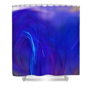 Abstracted Landscape  090611 Shower Curtain