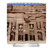 Abu Simbel Egypt 3 Shower Curtain