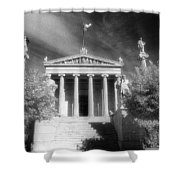 Academy Of Athens Shower Curtain