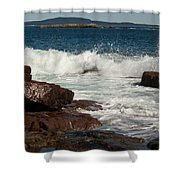 Acadian Shore Shower Curtain