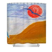 Acceptance Of Freedoms Wings Shower Curtain