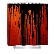 Acid Rain Shower Curtain