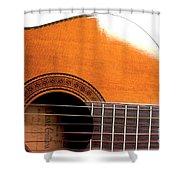 Acoustic Guitar 15 Shower Curtain