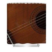Acoustic Guitar 21 Shower Curtain