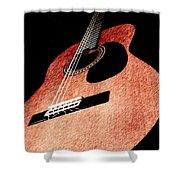 Acoustica Shower Curtain