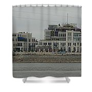 Across The Mississippi Shower Curtain