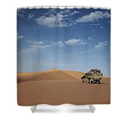 Ad Dahna Is The Red Sand Desert, Twenty Shower Curtain