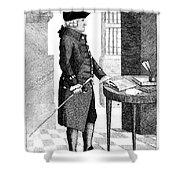 Adam Smith, Scottish Philosopher & Shower Curtain