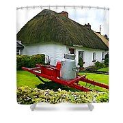 Adare Cottage Shower Curtain