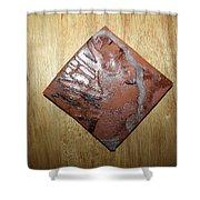 Adele - Tile Shower Curtain