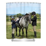 Adjustment To Be Made Shower Curtain