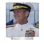 Admiral Eric T. Olson Speaks Shower Curtain