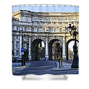 Admiralty Arch In Westminster London Shower Curtain
