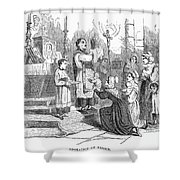 Adoration Of Relics Shower Curtain