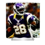 Adrian Peterson 02 - Football - Fantasy Shower Curtain