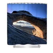 Adrift At Olympic Shower Curtain