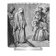 Adulterous Woman Shower Curtain