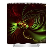 Advent Shower Curtain