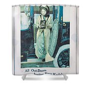 Advertisement Shower Curtain