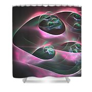 Aeronautical Shower Curtain