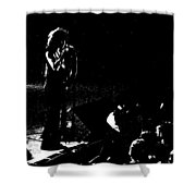 Aerosmith In Spokane 15b Shower Curtain