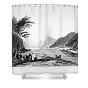 Africa: Cape Of Good Hope Shower Curtain
