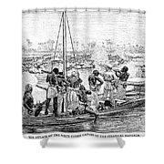 Africa: Pirates Shower Curtain