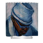 African American 1 Shower Curtain