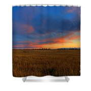 After Glow Shower Curtain