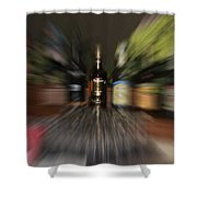 After The Party Shower Curtain