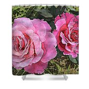 After The Summer Rain Watercolor Shower Curtain