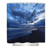 Afterglow On Fire Island Shower Curtain