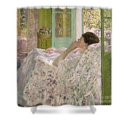 Afternoon - Yellow Room Shower Curtain