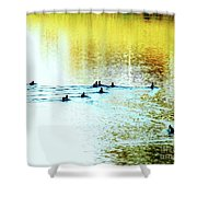 Afternoon Delights Shower Curtain