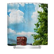 Afternoon In Paris Shower Curtain