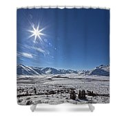 Afternoon Sun Along The Dempster Shower Curtain