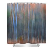 Afternoon Trees Shower Curtain