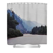 Agawa Shower Curtain