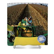 Agricultural Engineer Shower Curtain