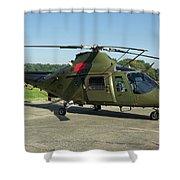 Agusta-westland A109 Shower Curtain