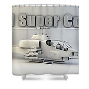 Ah-1 Super Cobra Shower Curtain