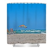Ahhh Vacation Shower Curtain