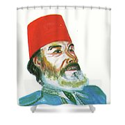Ahmed Messali Hadj Shower Curtain