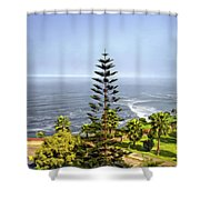Ah...peru Shower Curtain
