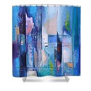 Air And Water Shower Curtain