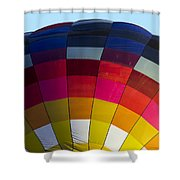 Air Balloon 1554 Shower Curtain