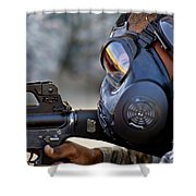 Air Force Basic Military Training Shower Curtain