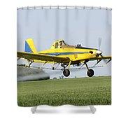 Air Plane  Shower Curtain