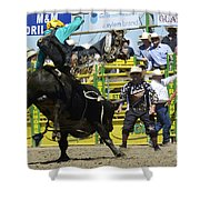 Rodeo Airborne Division Shower Curtain